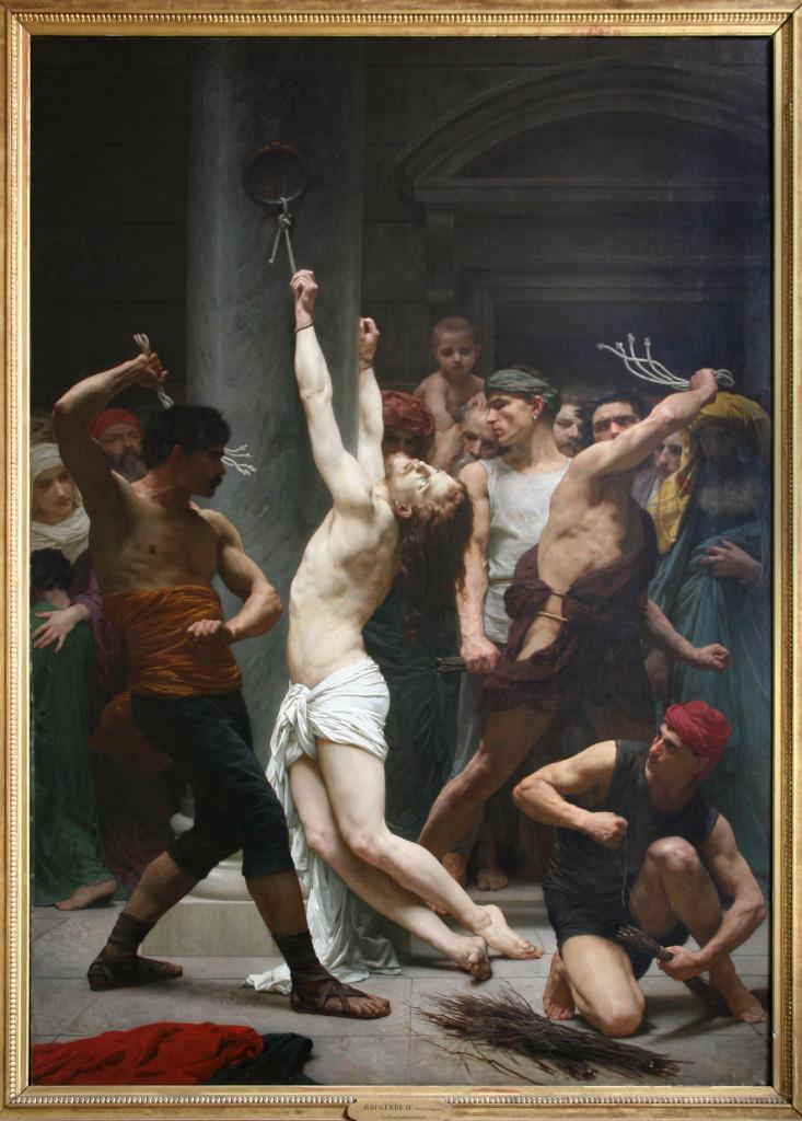 Bouguereau-Flagellazione di Cristo