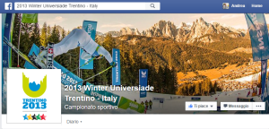 Profilo Facebook Winter Universiade 2013