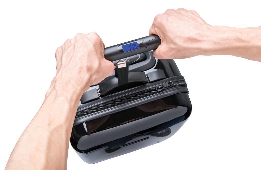 Pesa valigia digitale con powerbank