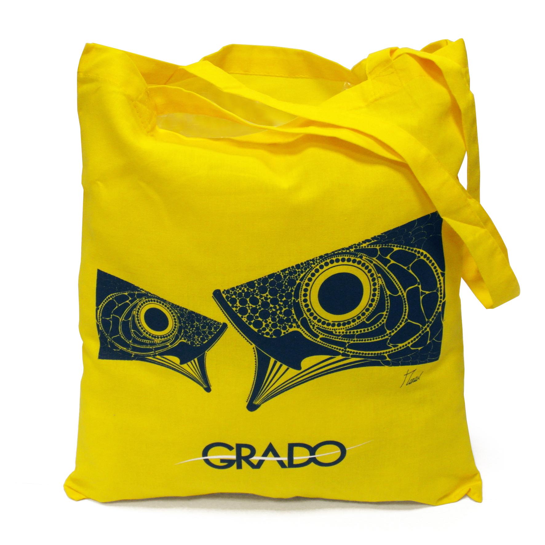 shopper-gialla-pesci-personalizzata-GIT-grado