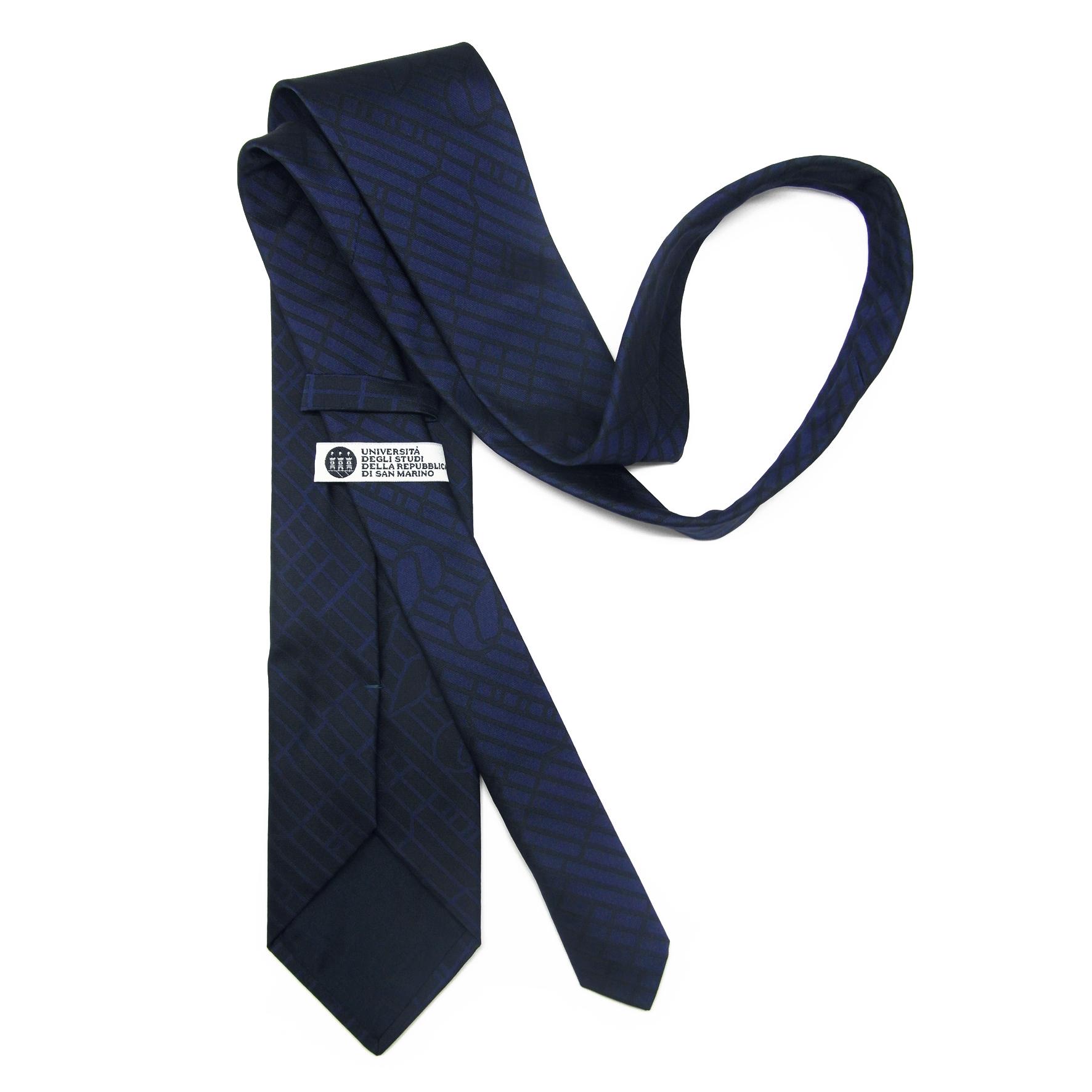 cravatta-personalizzata-universita-repubblica-sanmarino