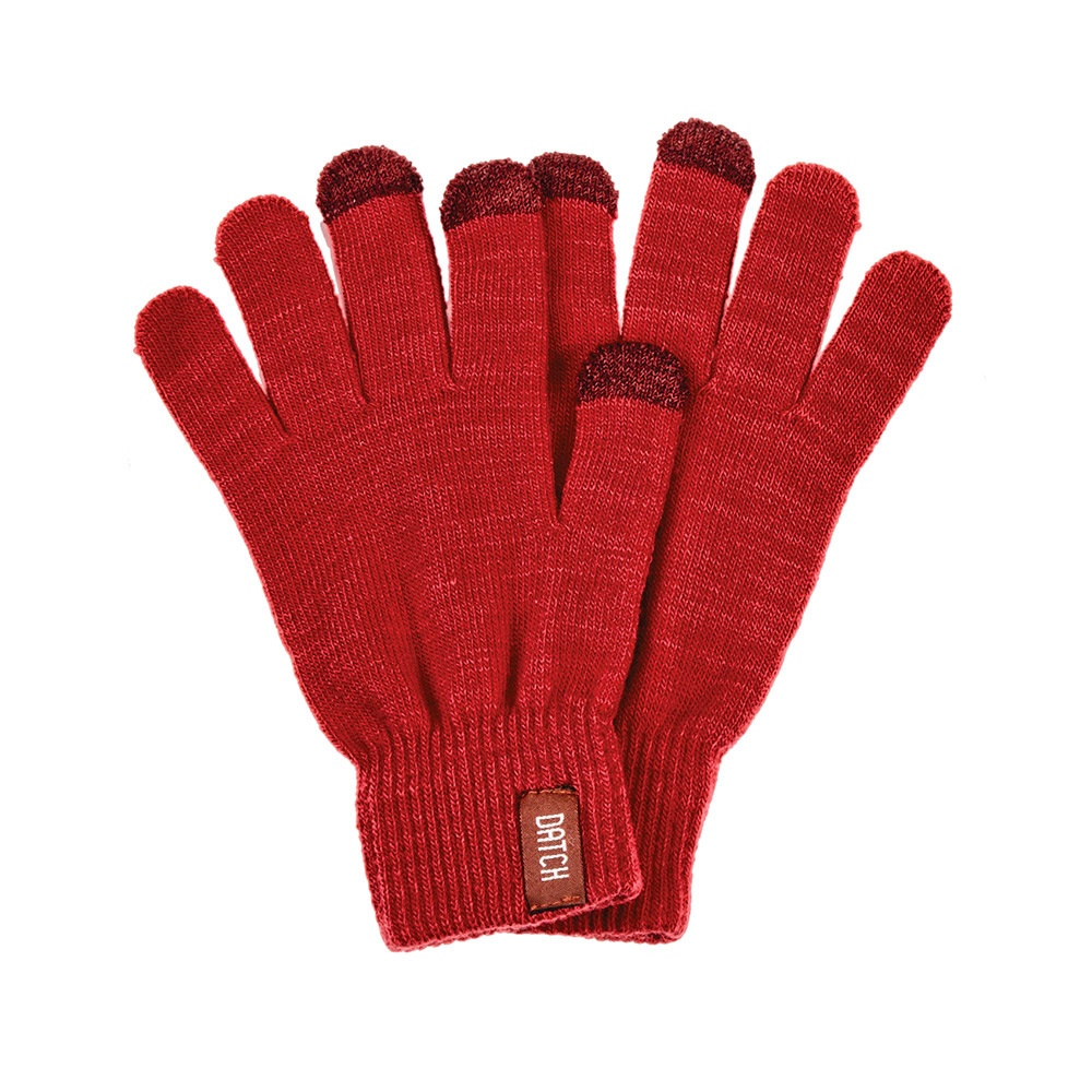 guanti-touch-red