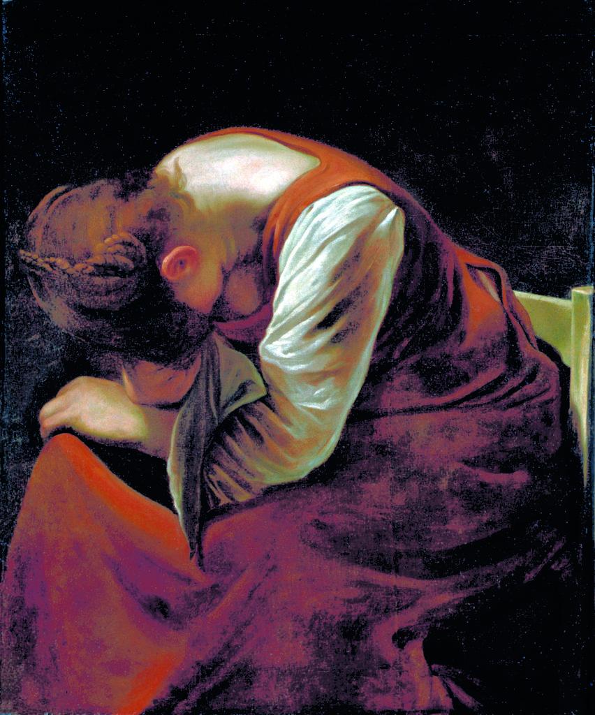 Caravaggio_MaddalenaAddolorata_1605-1606