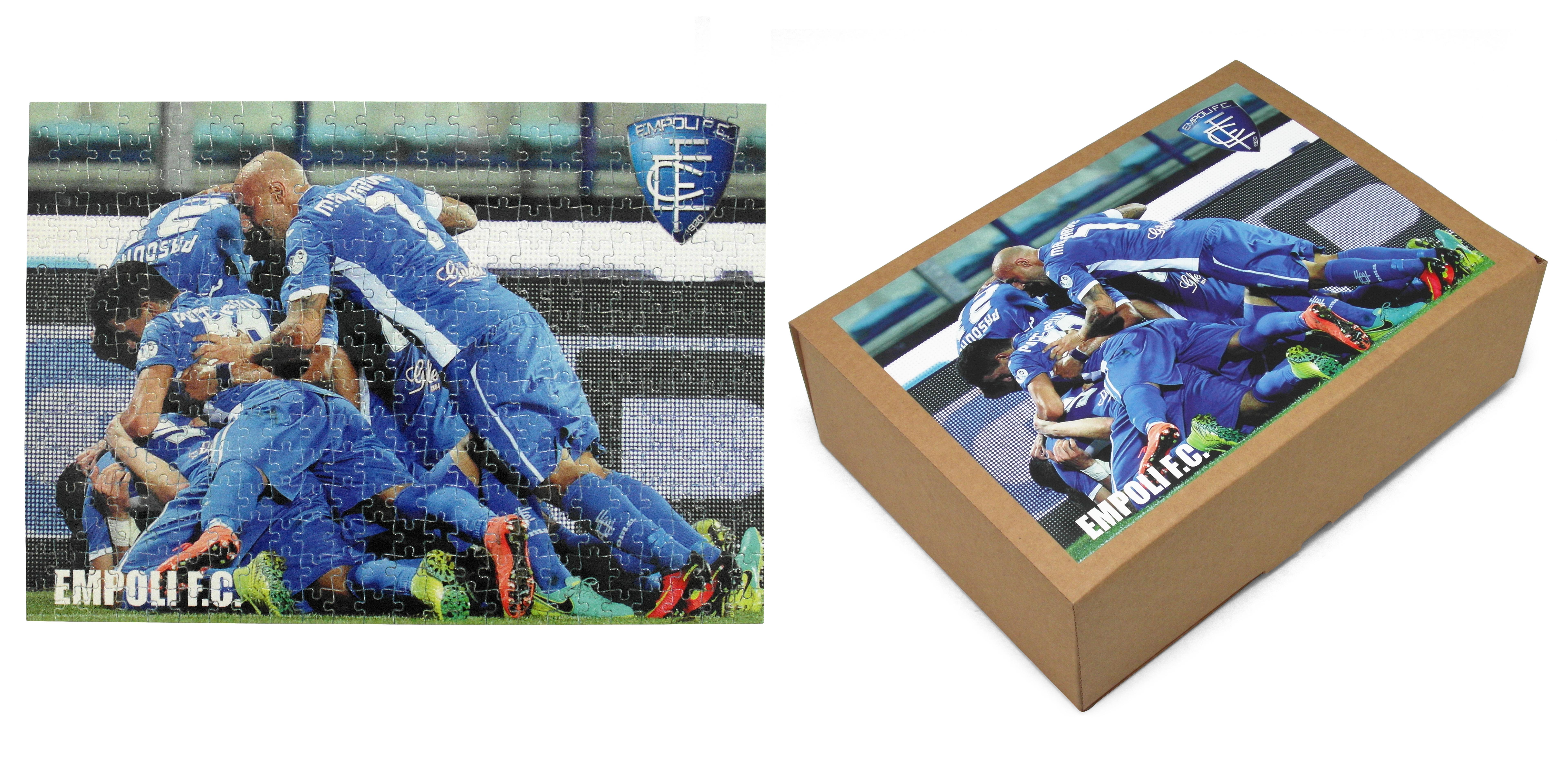 Puzzle personalizzato realizzato per Empoli FC