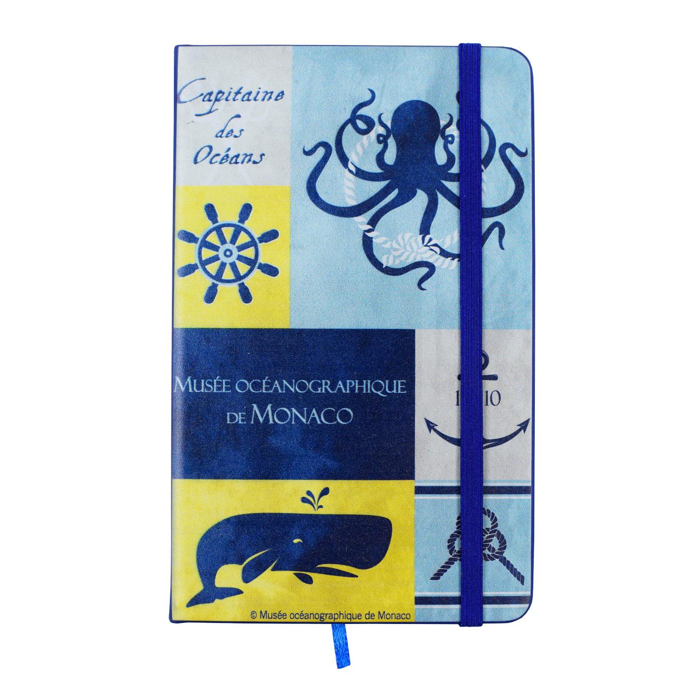 Agenda personalizzata con animali marini del Museo Oceanografico di Monaco