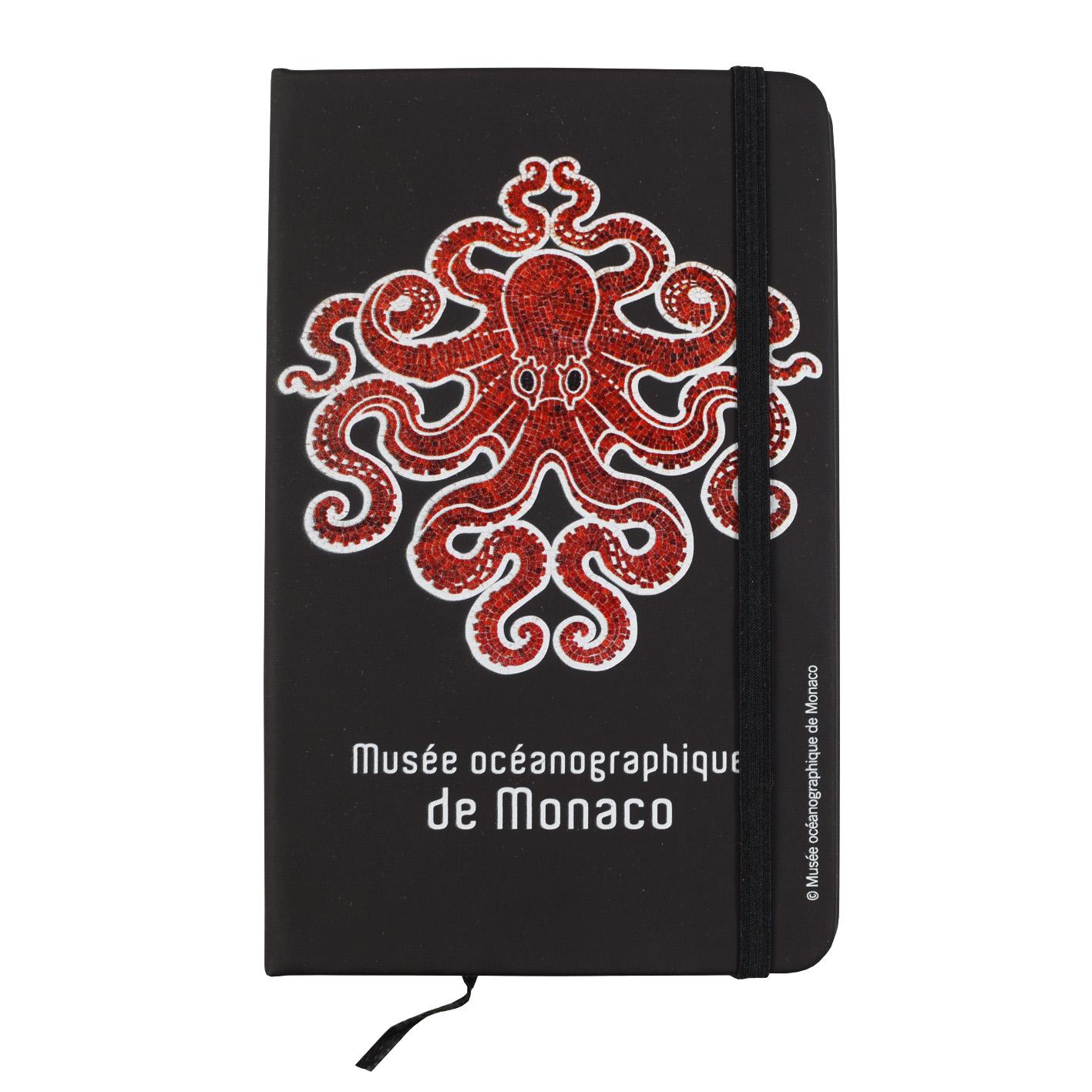 Agenda personalizzata con palazzo del Museo Oceanografico di Monaco