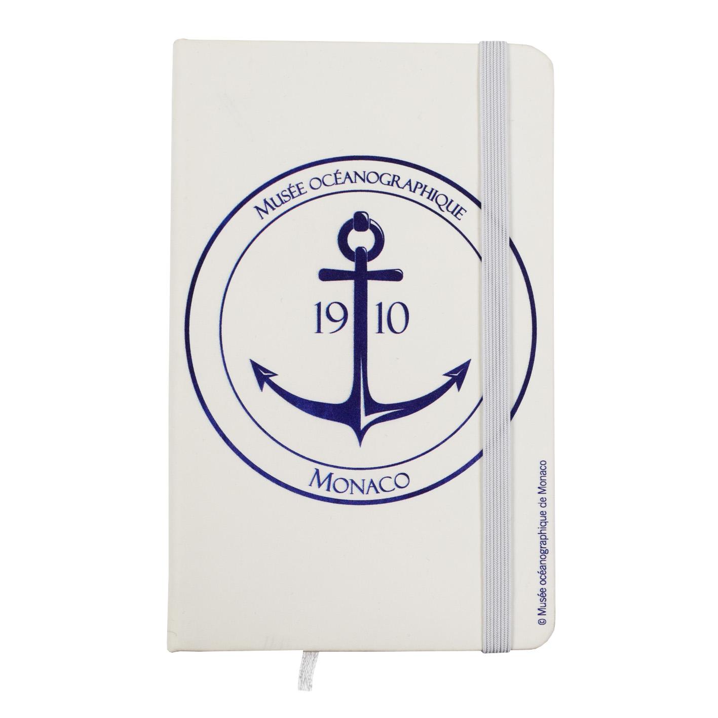 Agenda personalizzata con stemma del Museo Oceanografico di Monaco