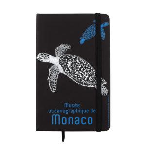 Agenda personalizzata con tartarughe del Museo Oceanografico di Monaco