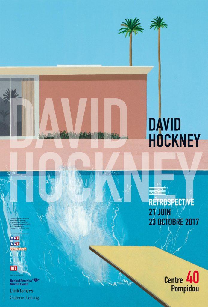 affiche David Hockney