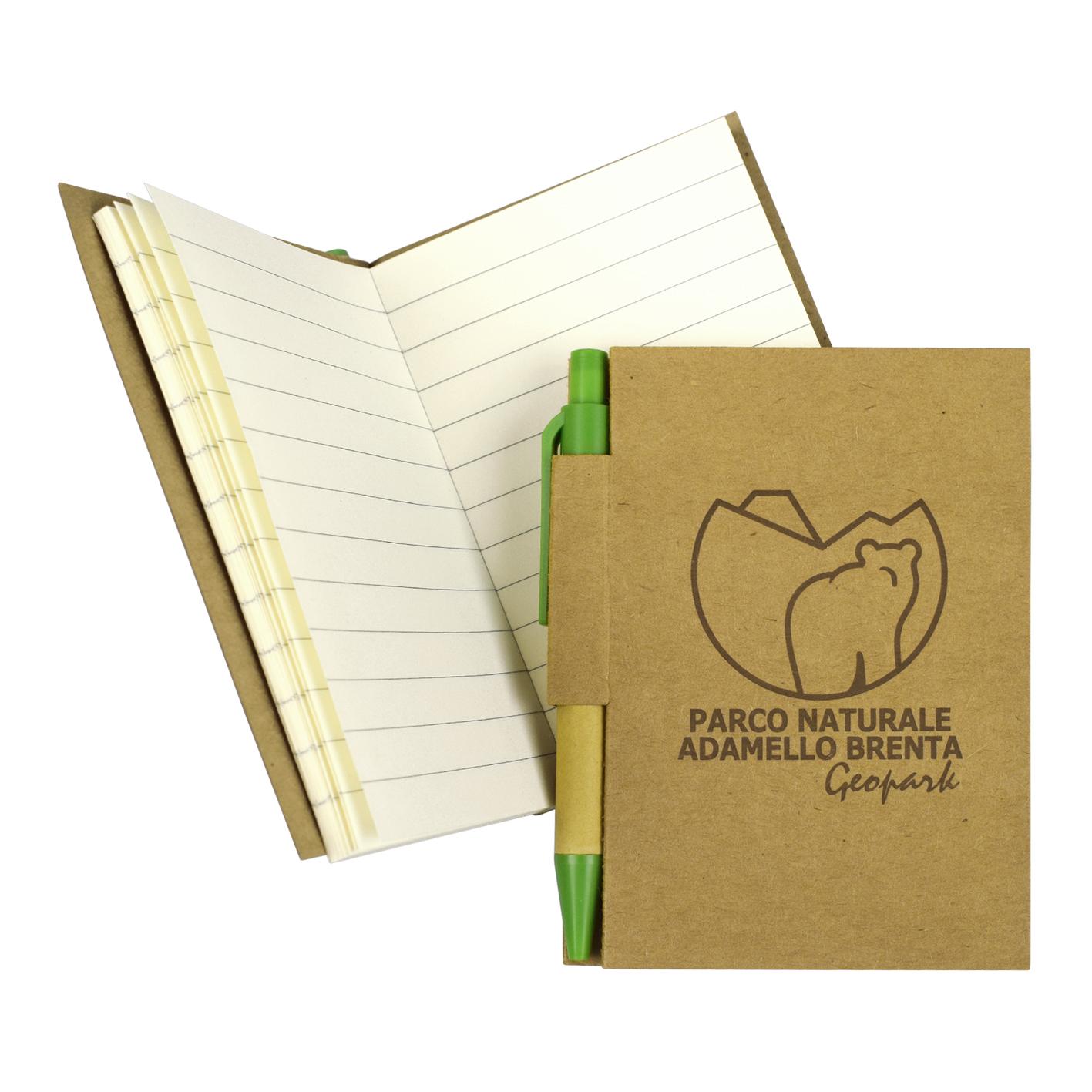Notes personalizzati per il Parco Naturale Adamello Brenta