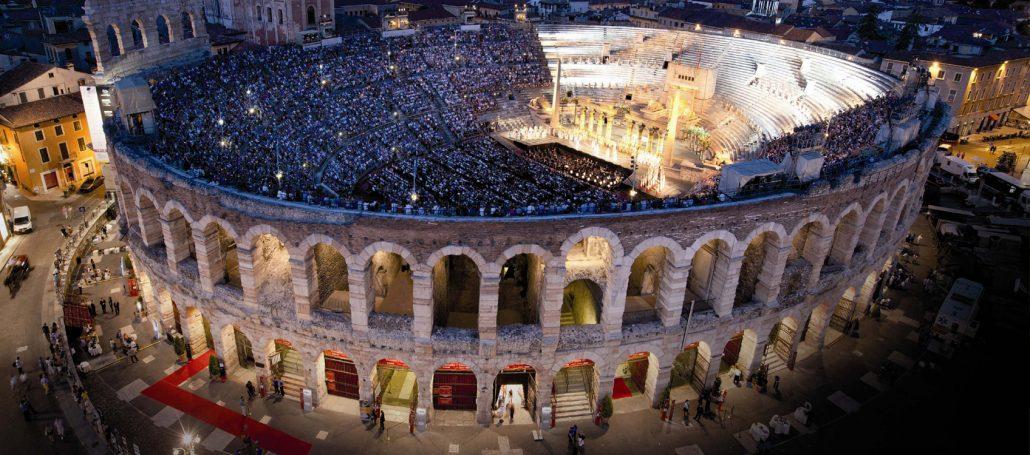 Arena di Verona - foto notturna