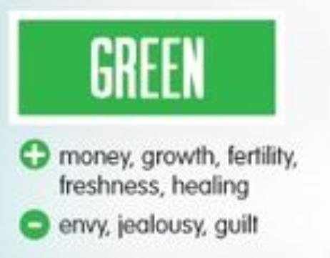 il verde nella psicologia dei colori