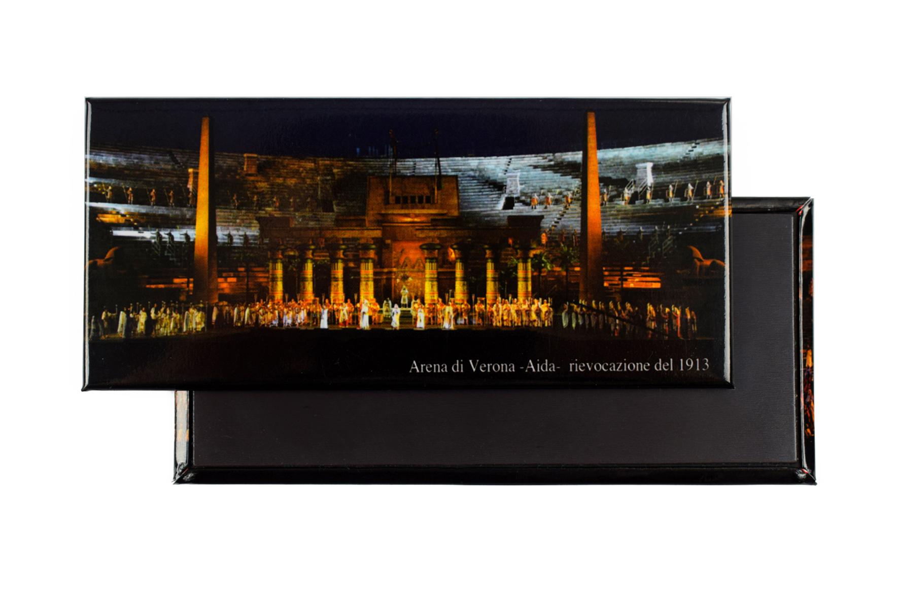 Magnete Arena di Verona - Aida - rievocazione del 1913