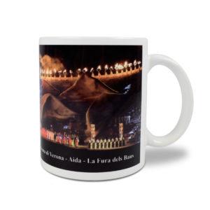 Tazza personalizzata Arena di Verona - Aida - La Fura dels Baus