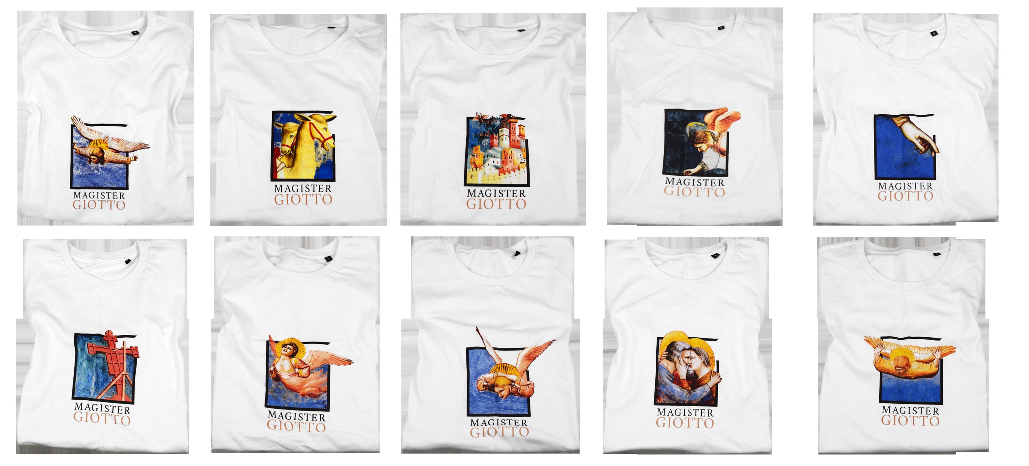 T-shirt personalizzate per Magister Giotto