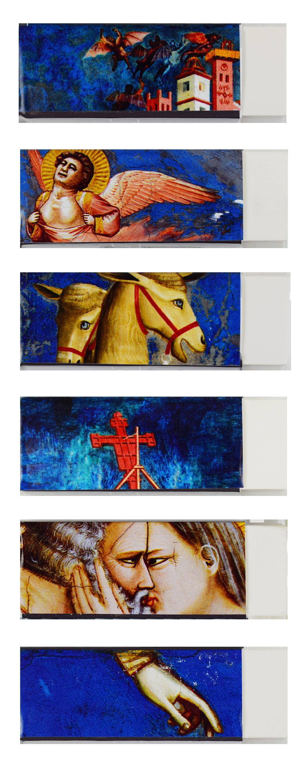 Soggetti diversi per le gomme personalizzate di Magister GIOTTO