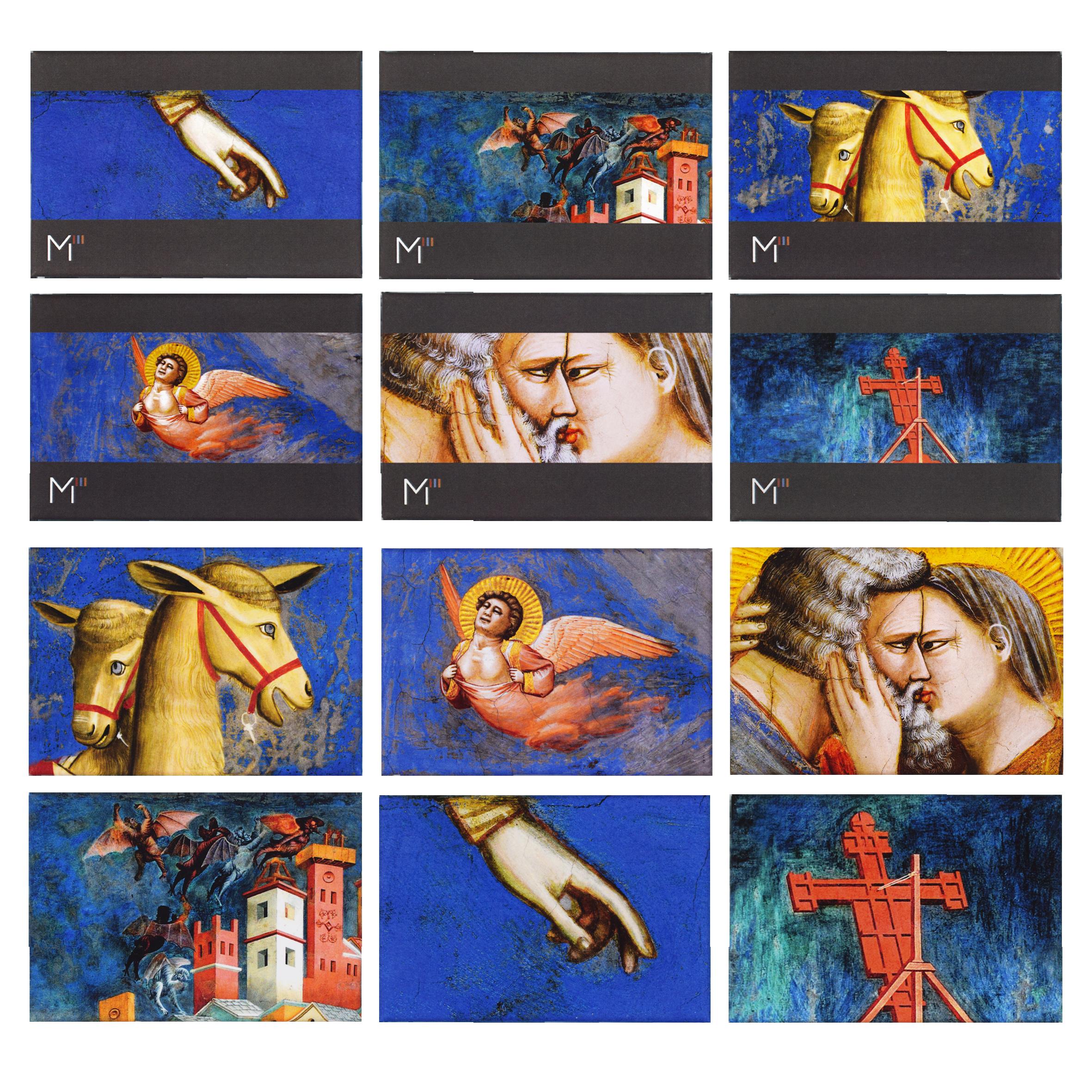 Tutti i soggetti dei magneti personalizzati realizzati per Magister Giotto