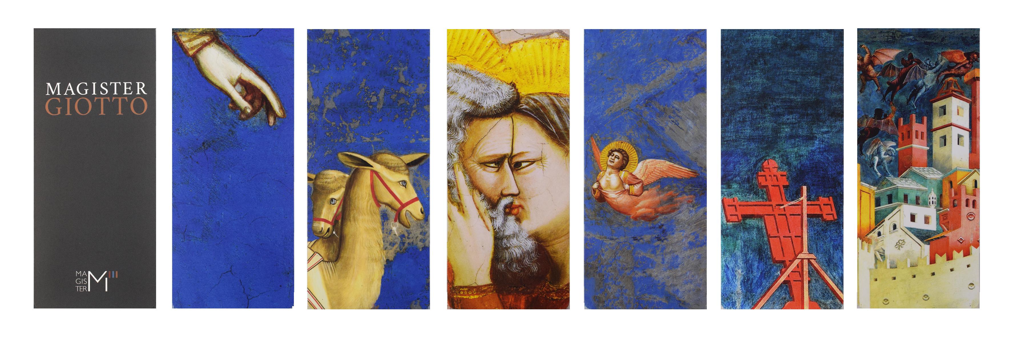 Segnalibri personalizzati realizzati per Magister Giotto