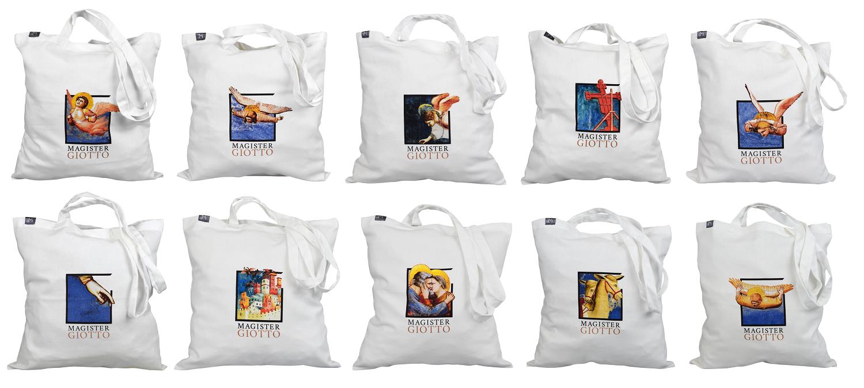 Tutti i soggetti di shopper personalizzate per Magister Giotto