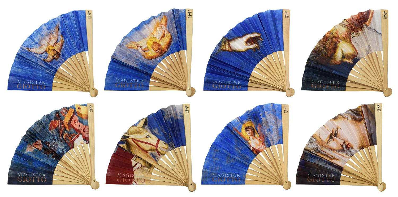 Ventagli personalizzati per Magister Giotto