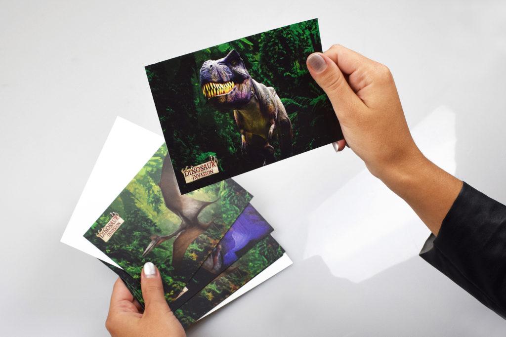 Cartoline personalizzate per Dinosaur Invasion