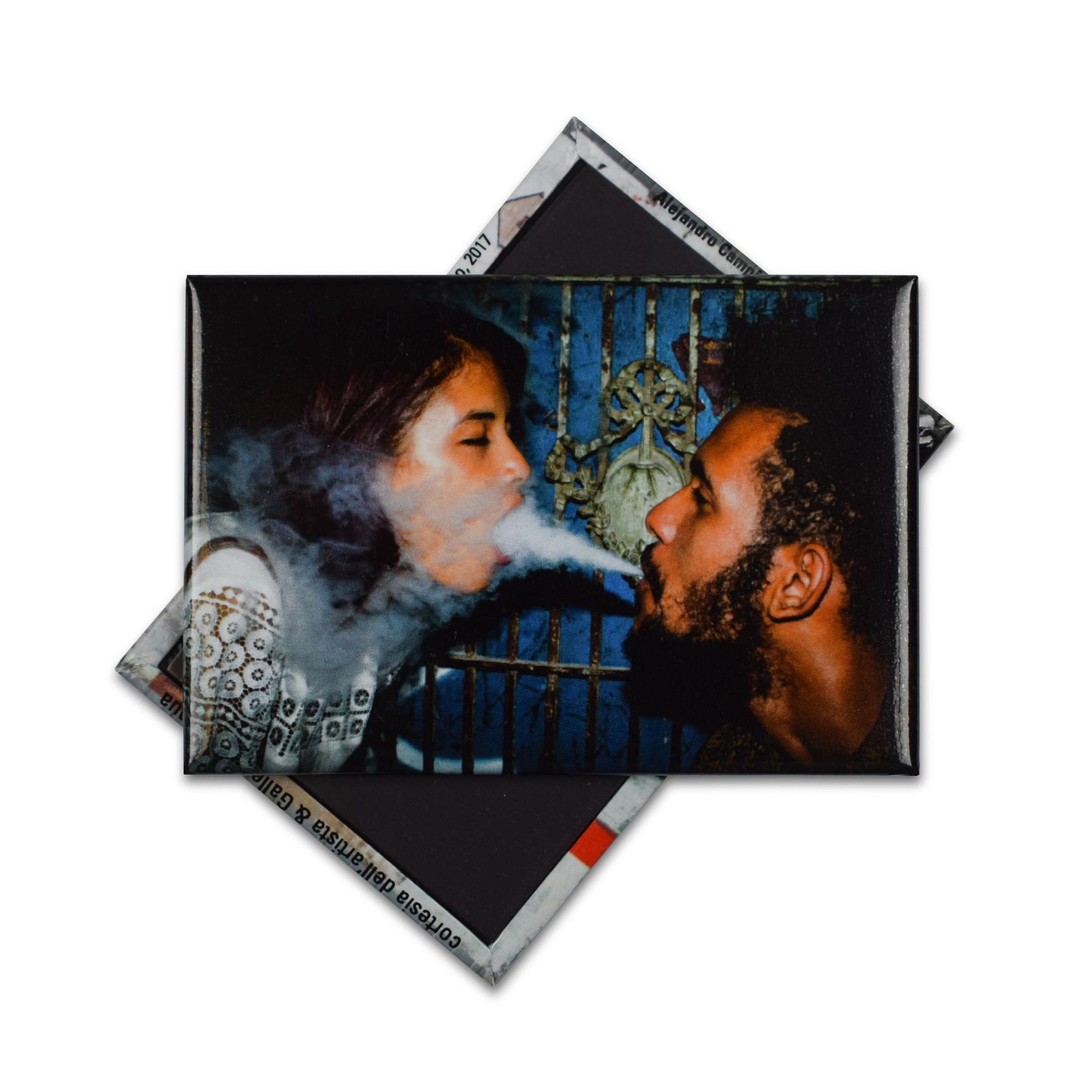 """Magnete personalizzato """"Serie Hotel Roma, 2017"""" Leandro Feal per la mostra """"Soy Cuba?"""""""