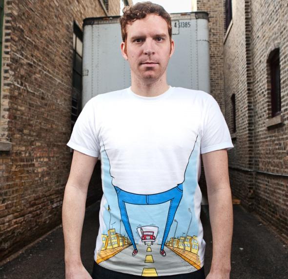T-shirt creativa