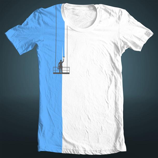 T-shirt colorata