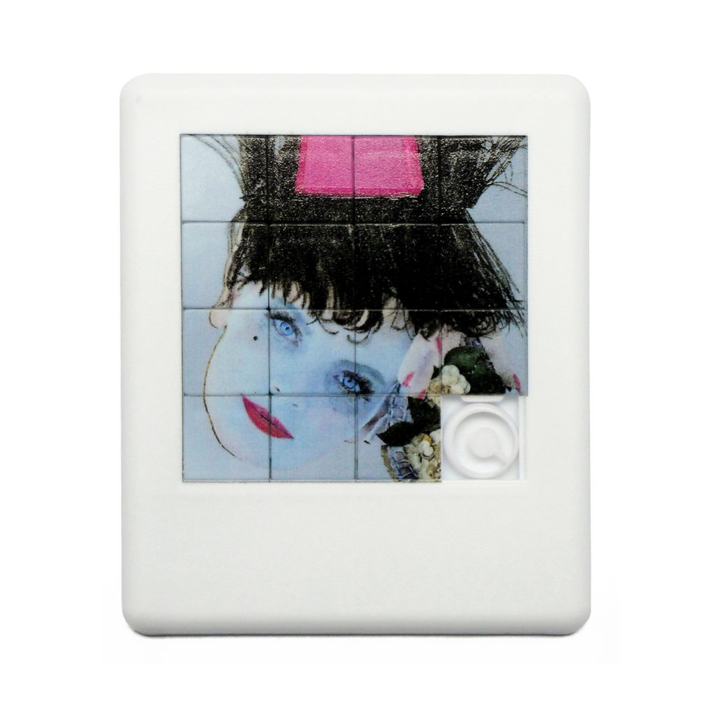 Gioco del 15 personalizzato con stampa digitale diretta realizzata per Palazzo Grassi