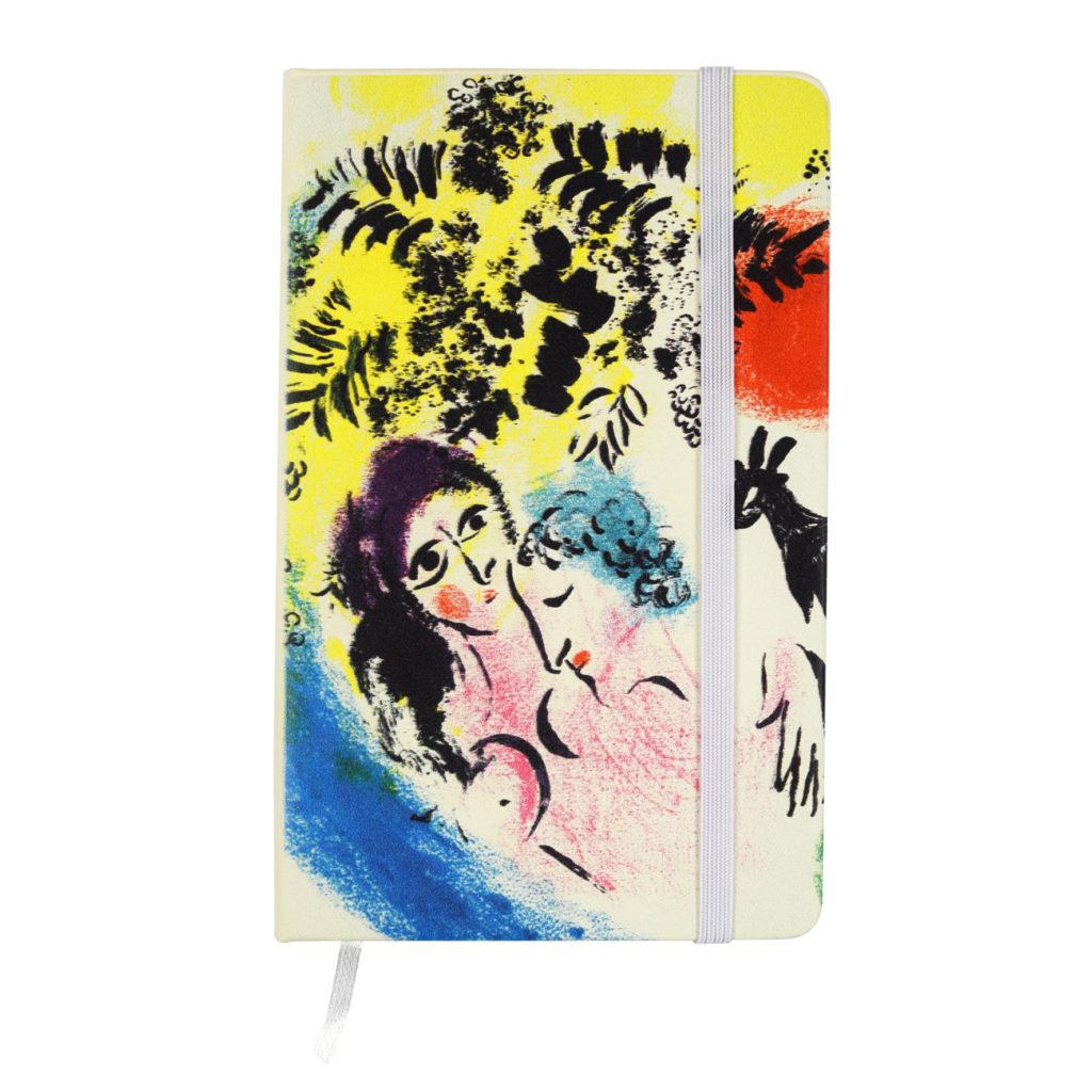 Notes personalizzato con stampa digitale a getto d'inchiostro realizzato per Marc Chagall - sogno e colore