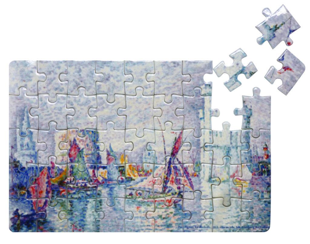 """Puzzle personalizzato con stampa digitale in sublimazione realizzato per la mostra """"da Degas a Picasso"""""""