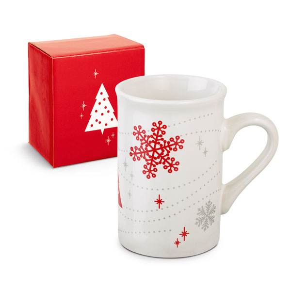 Tazza di natale con packaging