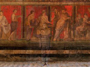 Villa dei Misteri, Pompei - Liu Bolin