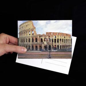 cartolina-Colosseo-LiuBolin