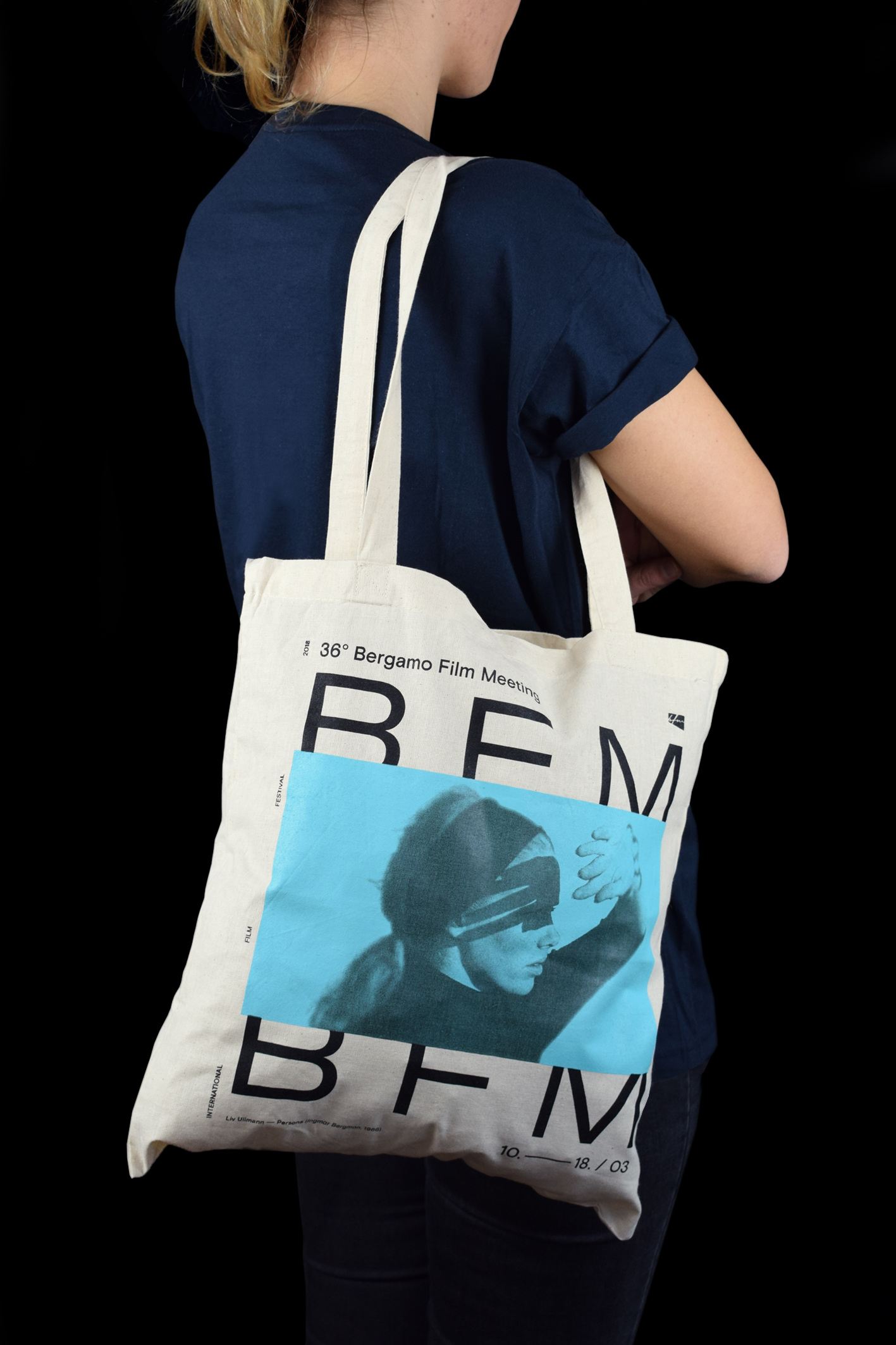 Shopper in cotone eco BFM 2018
