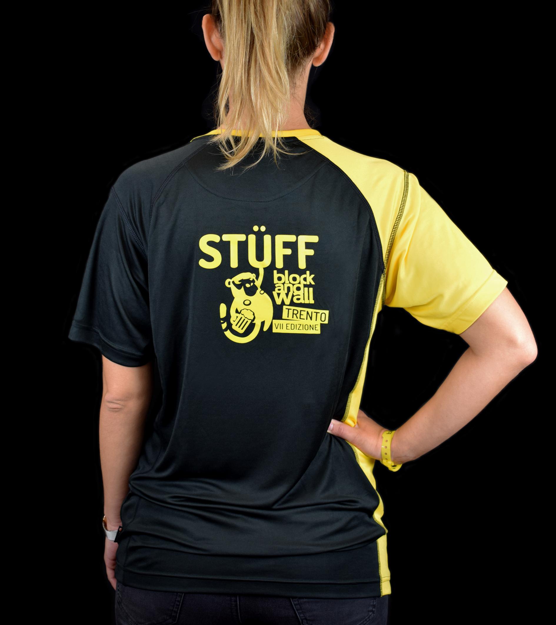 T-shirt tecnica Stüff Block and Wall La Sportiva