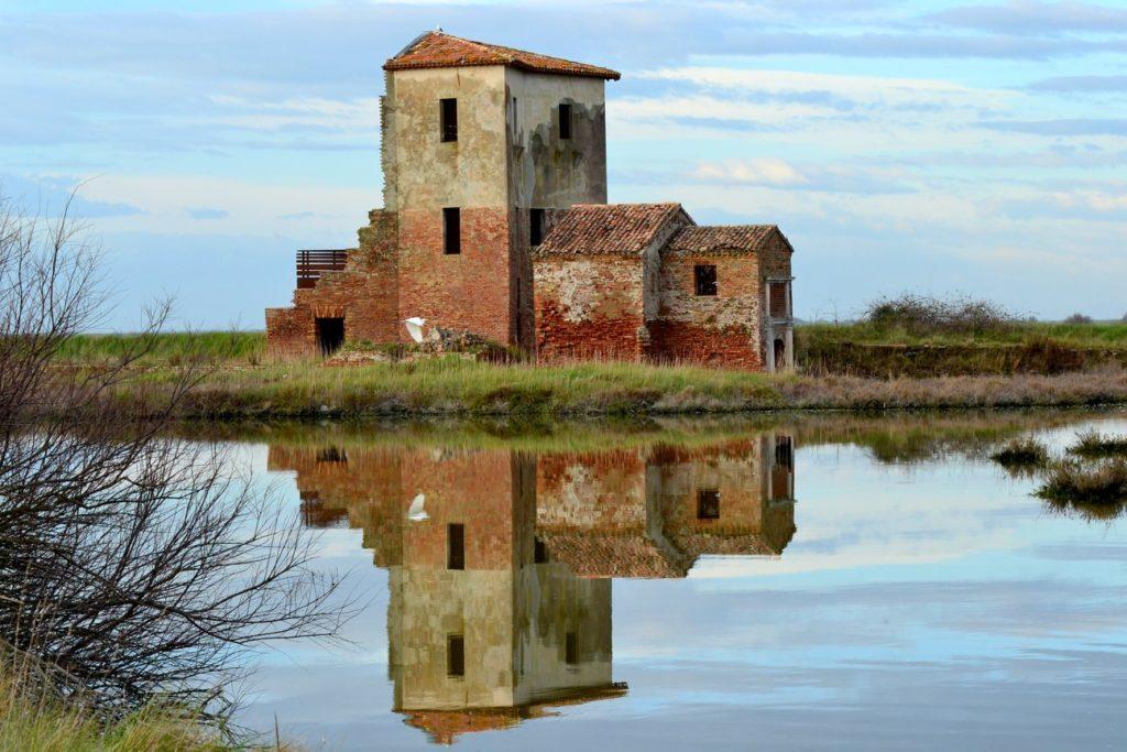Copyright foto Pagina Facebook di Salina di Comacchio