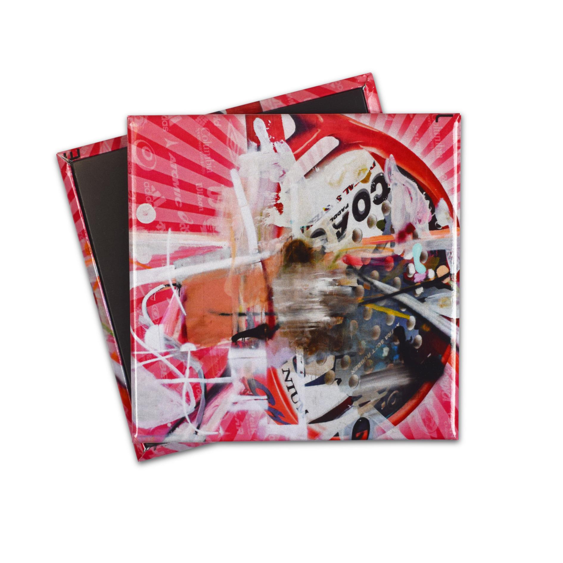 """Magnete personalizzato con opera """"Untitled"""" per l'esposizione """"Cows by the water"""" a Palazzo Grassi"""