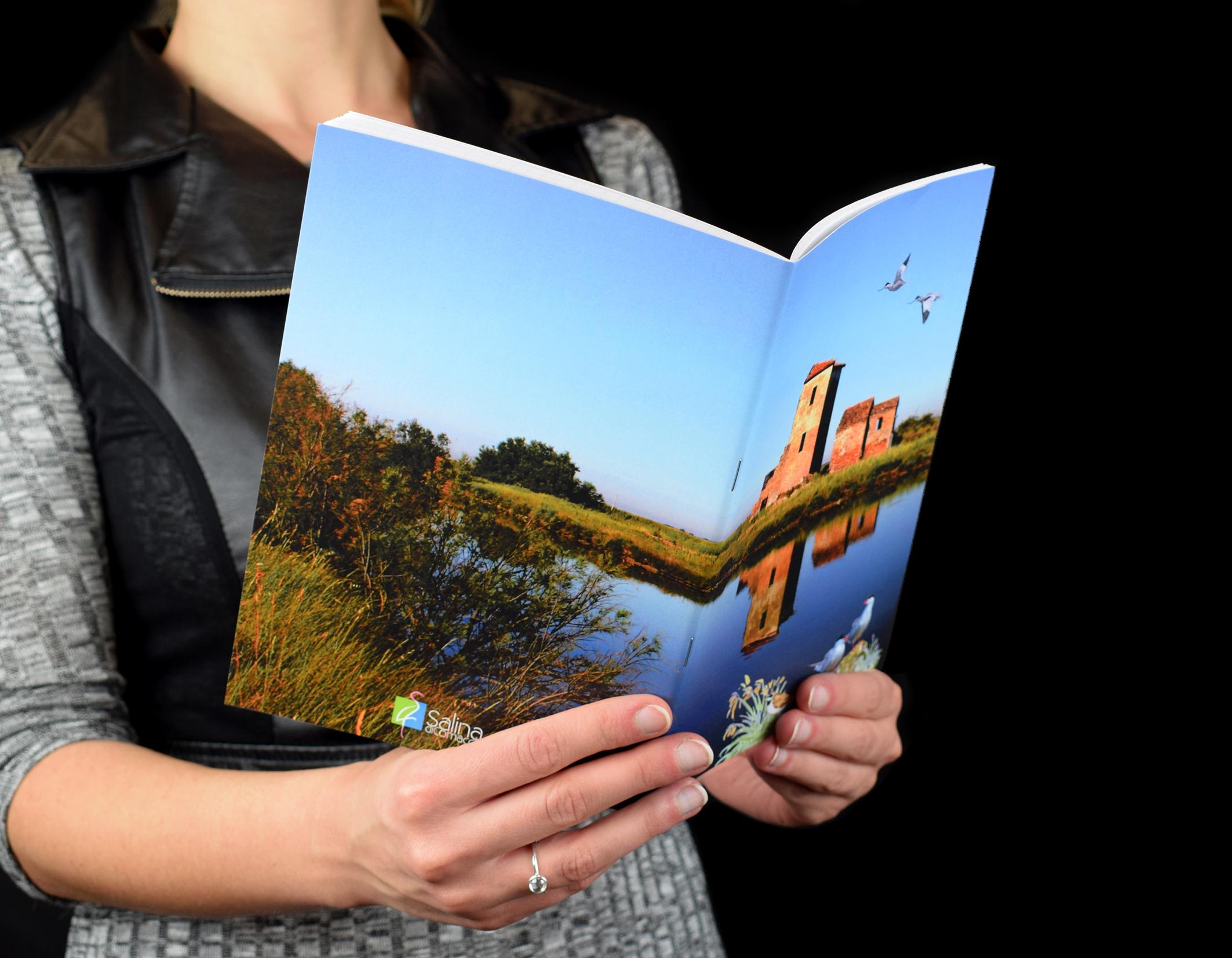 Quaderno personalizzato per Saline di Comacchio