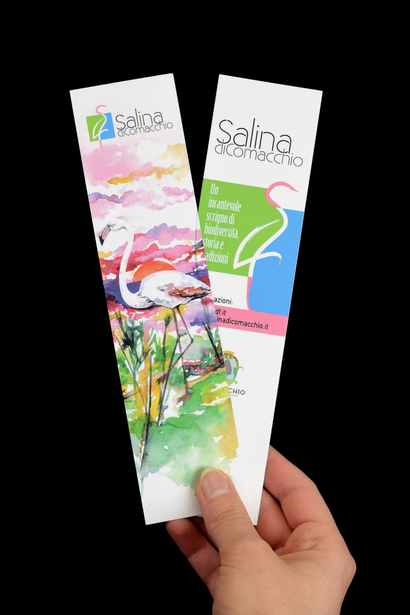 Segnalibro personalizzato Saline di Comacchio