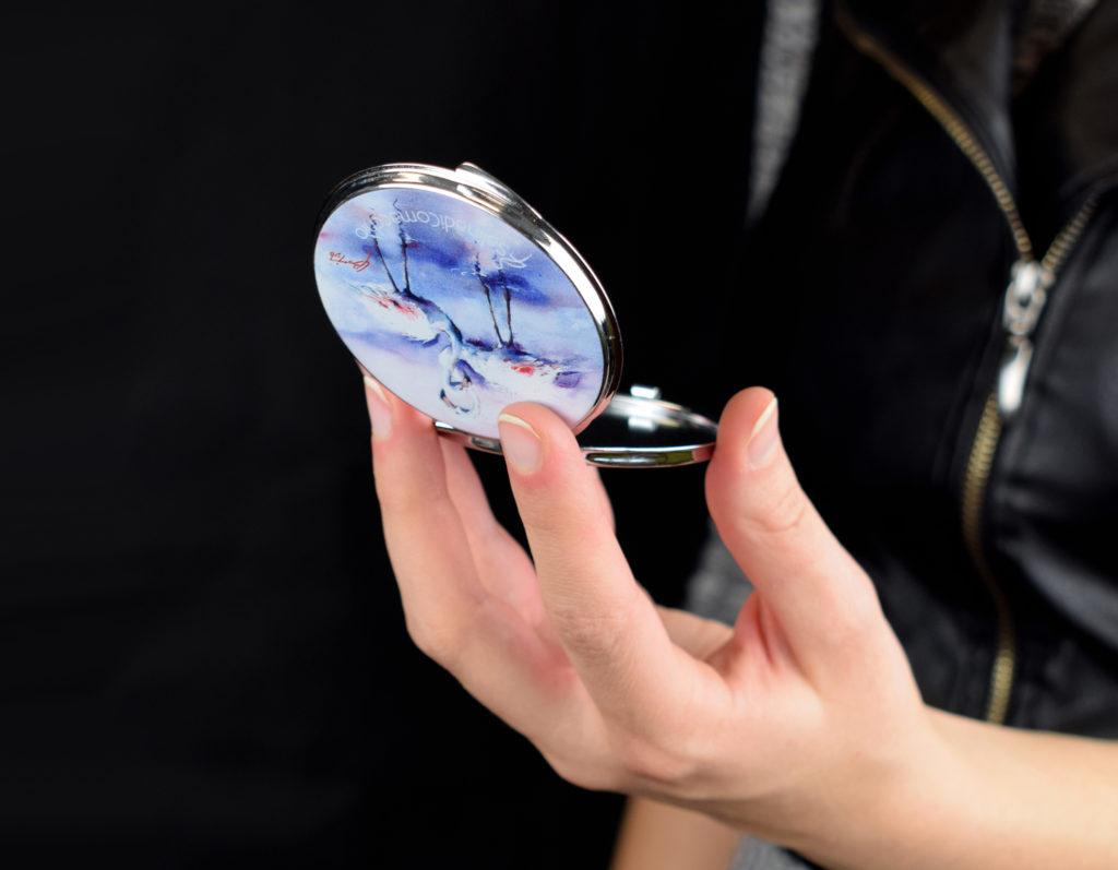 Specchietto personalizzato Saline di Comacchio