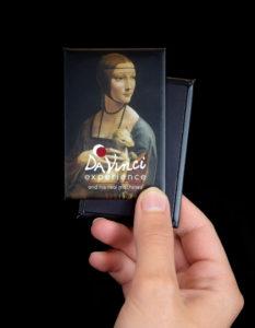 """Magnete """"Dama con l'ermellino"""" per Da Vinci Experience"""