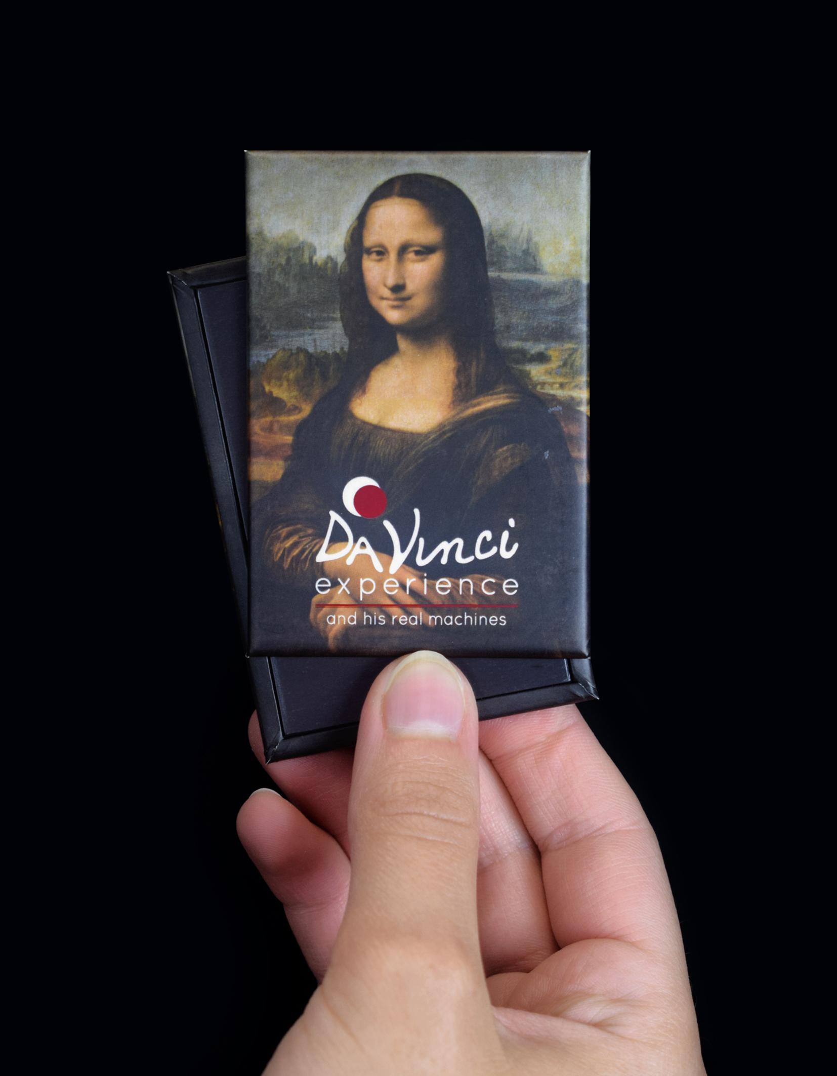 """Magnete """"Gioconda"""" per Da Vinci Experience"""