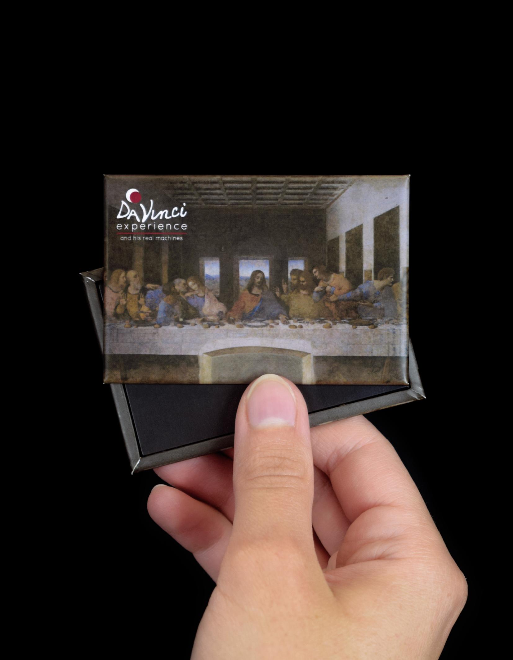 "Magnete ""Ultima cena"" per Da Vinci Experience"