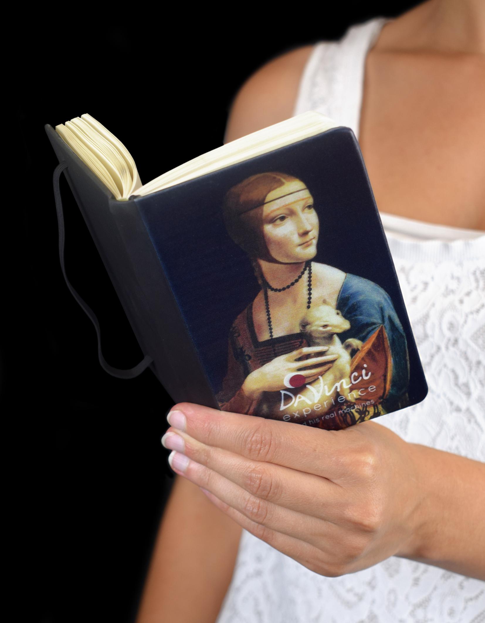 """Notes """"Dama con l'ermellino"""" per Da Vinci Experience"""