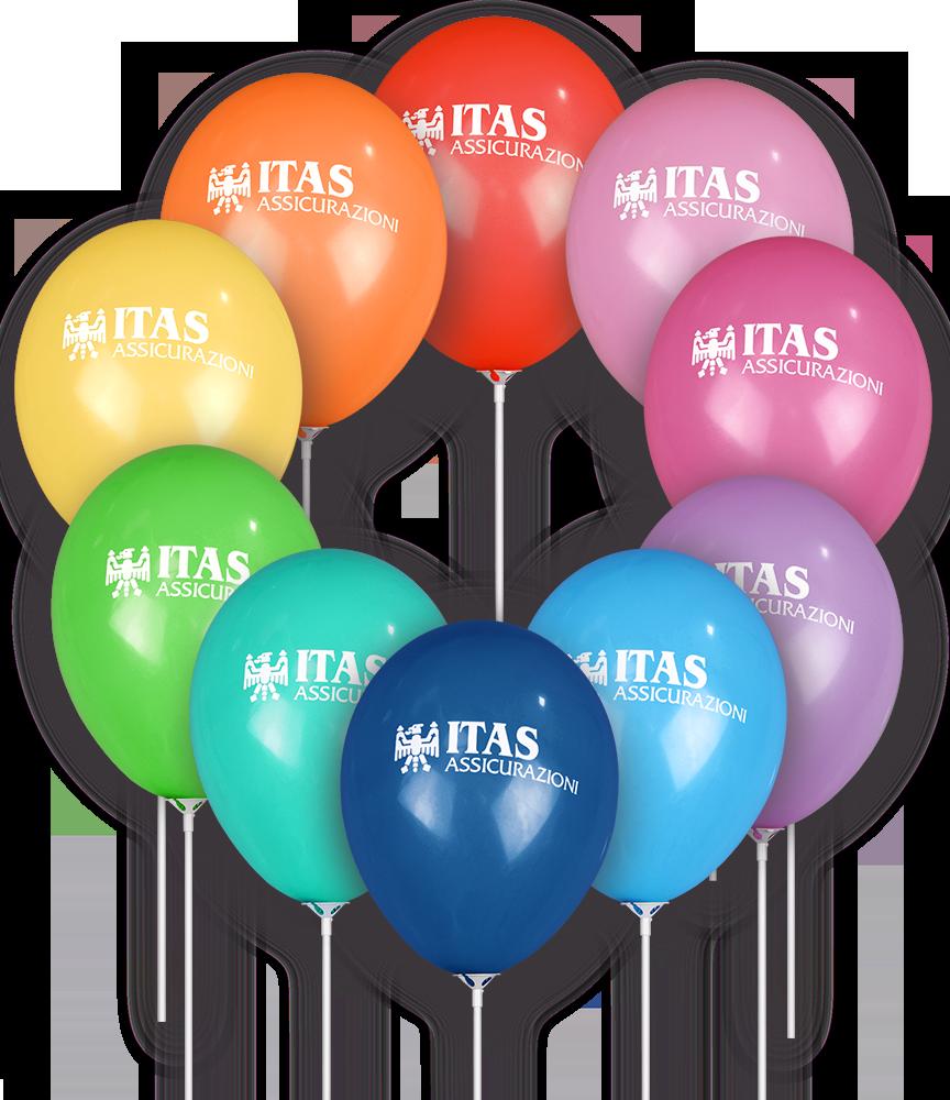 Palloncini colorati personalizzati ITAS