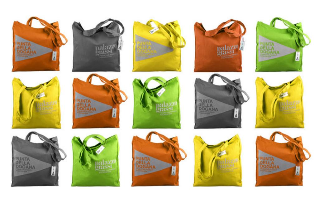 Palazzo Grassi - Punta della Dogana - shopping bag personalizzate