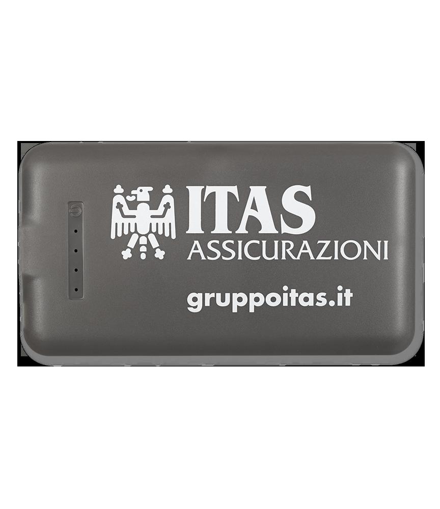 Powerbank personalizzato ITAS