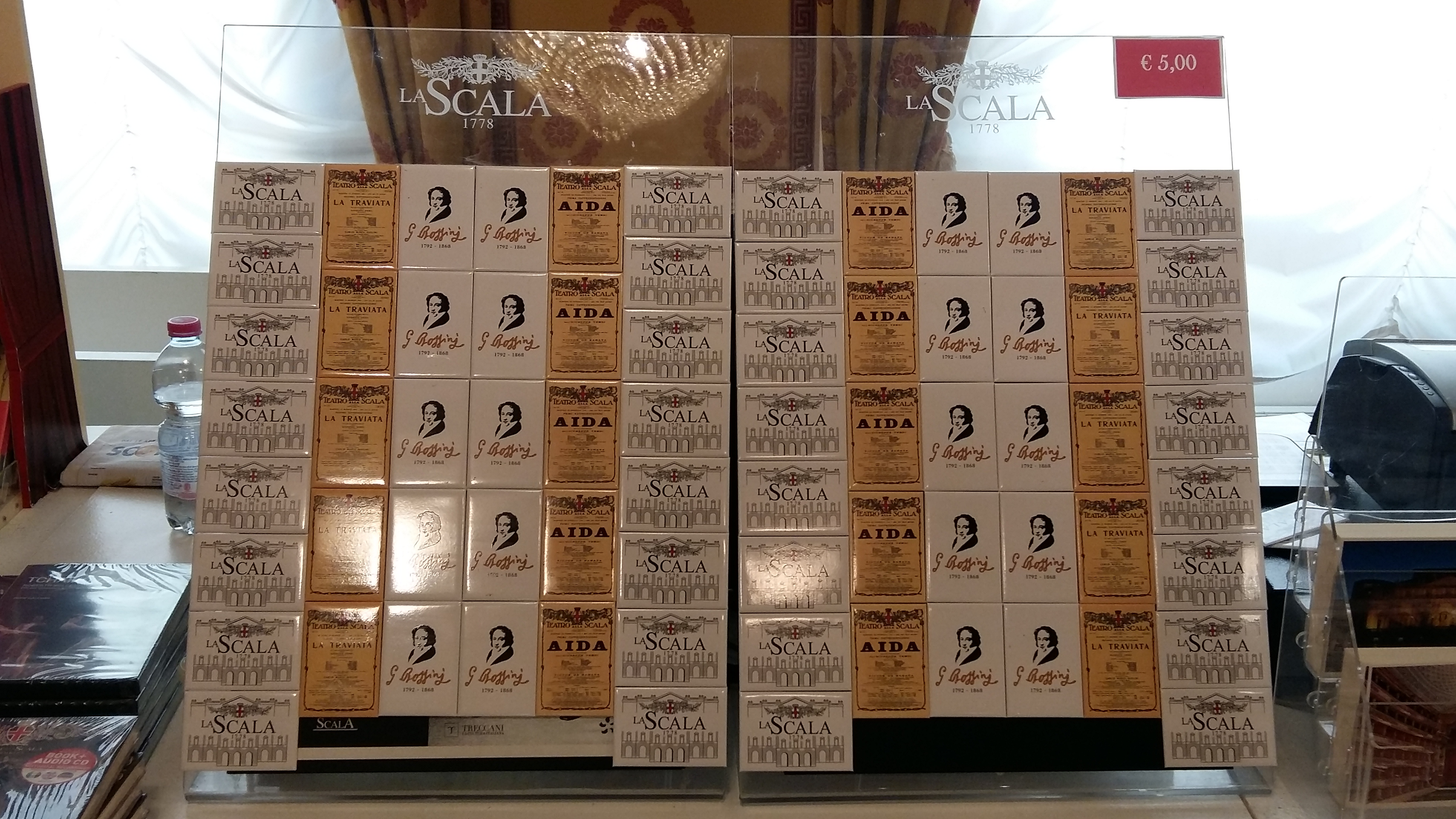 Magneti personalizzati presso La Scala shop