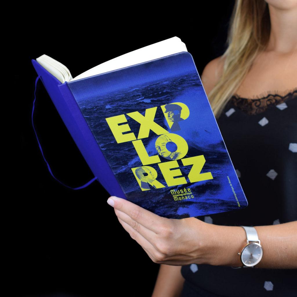 """Notes personalizzato """"Exlorez"""" al Museo Oceanografico di Monaco"""